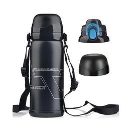 0.8L Thermos Coffee Travel Mug Tea Stainless Steel Vacuum Fl