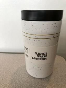 Ello 11oz Stainless Steel Jones Travel Mug White/Black