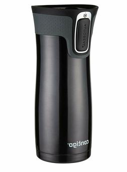 Contigo 16 oz Autoseal West Loop Stainless Steel Travel Mug,