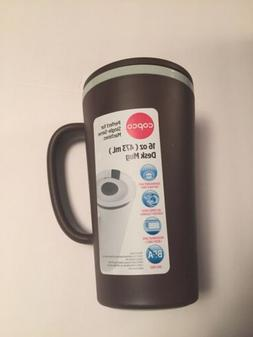 Copco 16 oz. Cone Desk Mug with Matching Sipping Lid BPA Fre