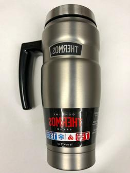 Thermos 16 oz. King Insulated Stainless Steel Travel Mug wit