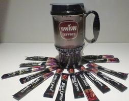 16 oz Wawa Travel Coffee Thermal Mug!!  BONUS  1 Single Serv