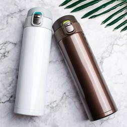 1x Stainless Steel Water Bottle Cups Vacuum Flask Thermos In