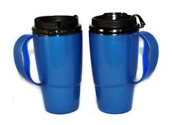 GAMA Electronics 2 Foam Insulated ThermoServ Coffee Mugs 16