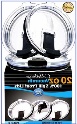 2 Yeti Lids 30 oz SPILL PROOF - NO LEAK & Splash resistant V