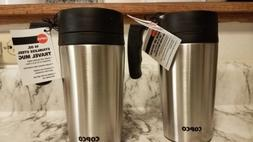 2 Copco Stainless Steel Double Wall Insulated Travel Mug, 14