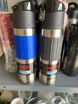 2 X Thermos Brand 18 oz Vacuum Insulated Stainless Steel Hyd