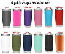 20 oz Stainless Steel Tumbler Insulated Coffee Cup Travel Mu