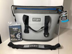 2018 Yeti Hopper Two 30 Gray / Blue NEW WITH TAGS soft zippe