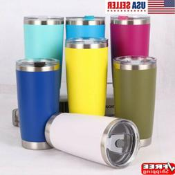 12/20oZ Stainless Steel Tumbler Vacuum Double Insulation Tra