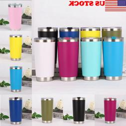 20oZ Stainless Steel Tumbler Vacuum Double Wall Insulation T
