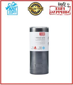 20oz Vacuum Insulated Tumbler Yeti Rambler Cup Non-Spill Lid