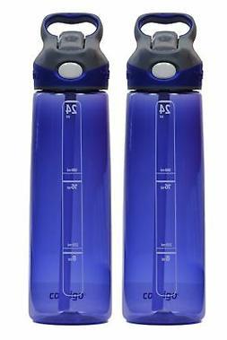 Contigo 24oz Addison Water Bottles, Cobalt