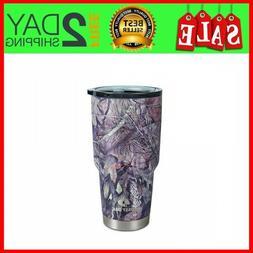 30 Oz Vacuum Insulated Tumbler Yeti Rambler Cup Non-Spill Li