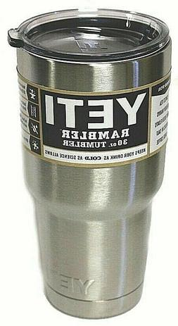 Yeti 30oz Stainless Steel Tumbler Cup with Lid  Rambler Tumb