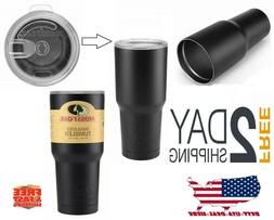 30oz Vacuum Insulated Tumbler Rambler Cup Non-Spill Lid Trav
