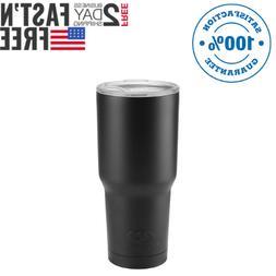 30oz Vacuum Insulated Tumbler Yeti Rambler Cup Non-Spill Lid