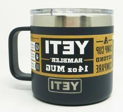 YETI 3284 Rambler 14 oz Mug Stainless Steel Vacuum Insulated