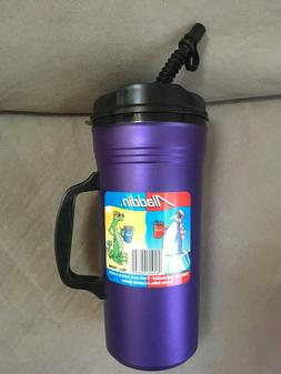 32oz Aladdin Insulated Travel Coffee Mug Cup Tumbler Purple