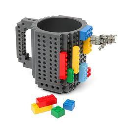 350ml brick cup, DIY coffee cup, puzzle creative milk cup, c