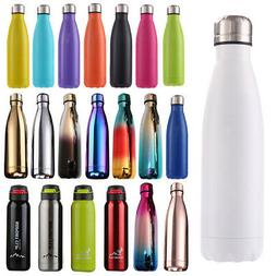 500ML Water Bottle Vacuum  Flask Thermal Chilly Cold Mug Cup