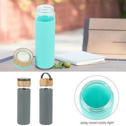 500ml Travel Mug Shatterproof Hand Portable Glass Water Bott