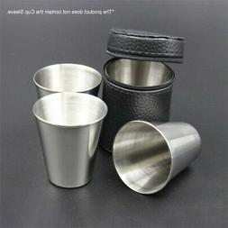 70ML Compact Home Kitchen Travel Stainless Steel Cover Mug C