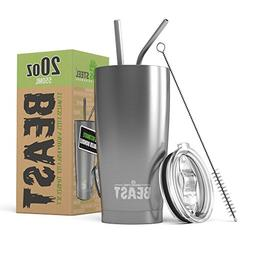BEAST 20oz Stainless Steel Tumbler Vacuum Insulated Rambler