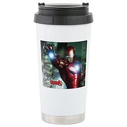 CafePress - Avengers Invincible Iro Stainless Steel Travel M