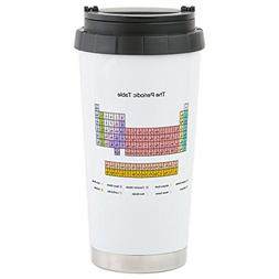 CafePress - Colorful Periodic Table Stainless Steel Travel M