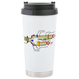 CafePress - DNA Synthesis Stainless Steel Travel Mug - Stain