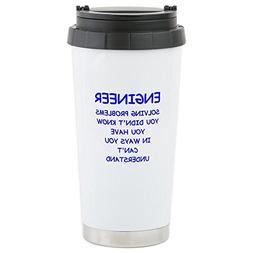 CafePress - ENGINEER Travel Mug - Stainless Steel Travel Mug
