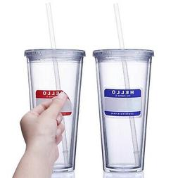Cupture Classic Insulated Double Wall Tumbler Cup with Lid,