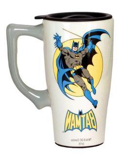 DC Comics Batman Travel Mug, Multi Colored