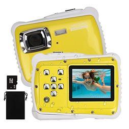 DECOMEN Kids Digital Camera, Underwater Camera Waterproof Ca
