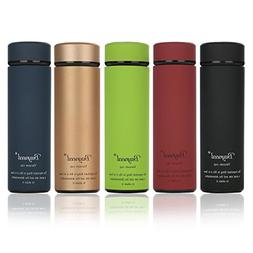 Double Wall Vacuum Insulated Travel Mug 16 oz-Stainless Stee