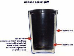 GAMA Electronics 2 ThermoServ Foam Insulated Coffee Mug 20 o