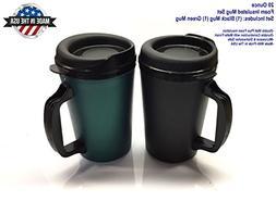 GAMA Electronics 20 oz ThermoServ Foam Insulated Coffee Mug