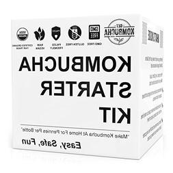 Get Kombucha Organic Kombucha Starter Kit With Homemade Brew