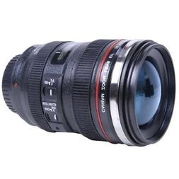 New Looks Like Canon SLR Lens 24-105mm Travel Coffee Mug/Cup