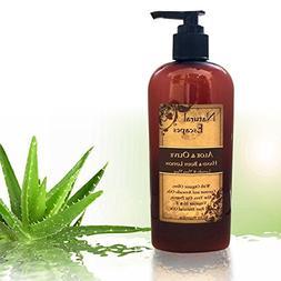 Organic Lavender Lotion w/Aloe Vera, Olive Oil, Coconut Oil