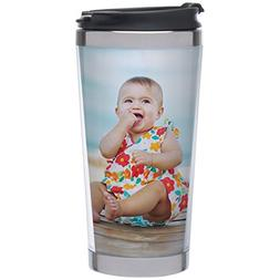 Photo Stainless Steel Travel Tumbler - Create Your Own