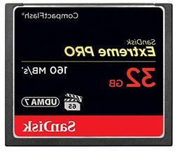SanDisk Extreme PRO 32GB CompactFlash Memory Card UDMA 7 Spe