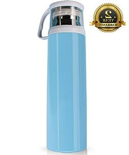 Stainless Steel Thermos Water Bottle with a Handle Vacuum In