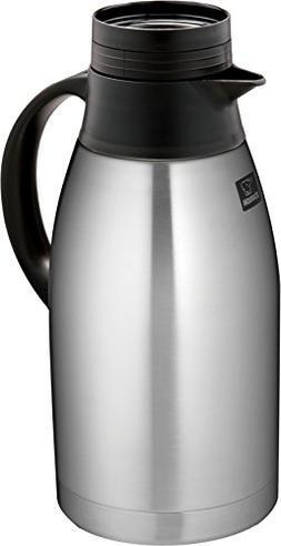 Zojirushi - 64-oz. Vacuum Carafe - Black/stainless-steel