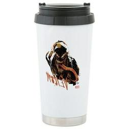 CafePress Abstract Venom Stainless Steel Travel Mug Stainles