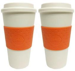 Copco Acadia Insulated Travel Mug Non Slip Sleeve BPA Free 1