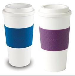 Copco Acadia Reusable To Go Mug, 16-ounce Capacity - 2 Pack