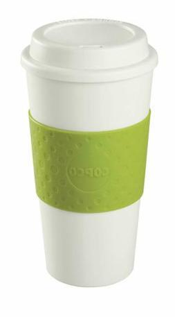 Copco 16-Ounce Capacity Acadia Reusable To Go Mug, Green