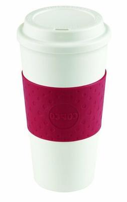 Copco Acadia Reusable Togo Mug Coffee Cup Cherry Red Eco Fri